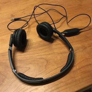 ゼンハイザー(SENNHEISER)のゼンハイザー PX200Ⅱ ブラック ほぼ新品(ヘッドフォン/イヤフォン)