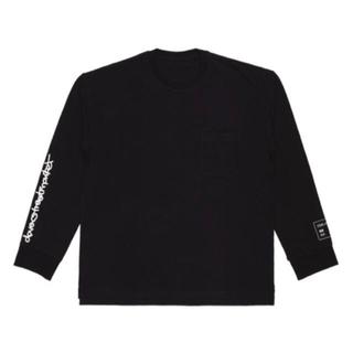 キムジョーンズ(KIM JONES)のKim Jones × GU × DSM ヘビーウェイトロングスリーブTシャツ(Tシャツ/カットソー(七分/長袖))