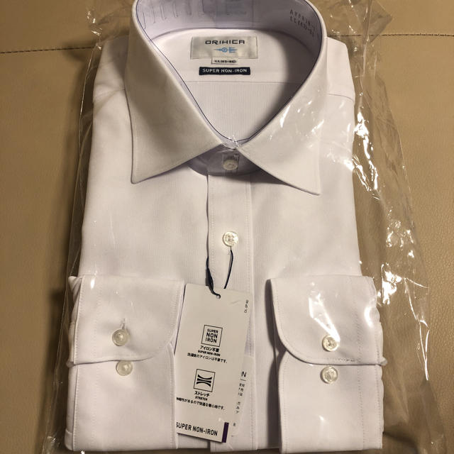 ORIHICA(オリヒカ)の未開封 ORIHICA ワイシャツ メンズのスーツ(その他)の商品写真