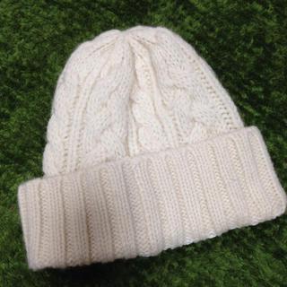 ムジルシリョウヒン(MUJI (無印良品))の無印 新品 ニット帽(ニット帽/ビーニー)