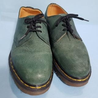ドクターマーチン(Dr.Martens)のドクターマーチン英国製グリーン(ブーツ)
