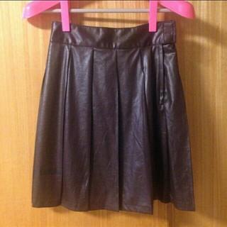 バツ(BA-TSU)の送料込★BA-TSU バツ☆プリーツスカート(ミニスカート)