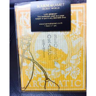 カルマ(KARMA)のKARMAKAMET,ブックマーク<オレンジブロッサム> (しおり/ステッカー)