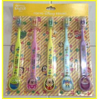 ディズニー(Disney)のディズニー✨歯ブラシ 5本セット ディズニーイースター2015(歯ブラシ/歯みがき用品)