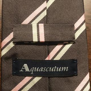 アクアスキュータム ネクタイ Aquascutum