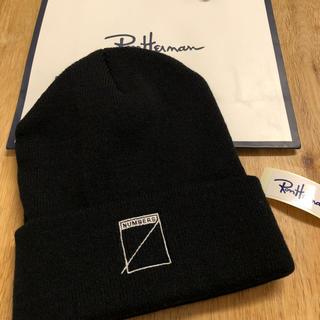 ロンハーマン(Ron Herman)の即購入OK^_^新品未使用正規品‼️ Numbersx ロンハーマンニット帽子黒(ニット帽/ビーニー)
