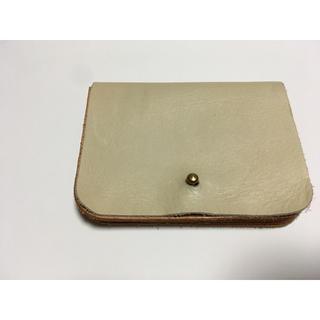 トチギレザー(栃木レザー)のタイドウェイ  カードケース 名刺 財布(財布)
