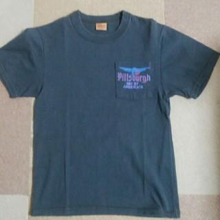 デラックス(DELUXE)のDeluxe(デラックス) ポケット付プリントTシャツ 表示サイズ:XS(Tシャツ/カットソー(半袖/袖なし))