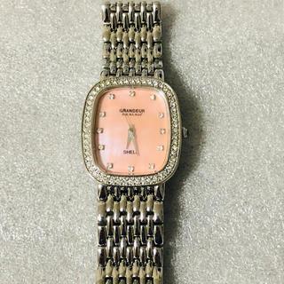 グランドール(GRANDEUR)のGRANDEURグランドール レディス腕時計 スワロフスキー(腕時計)
