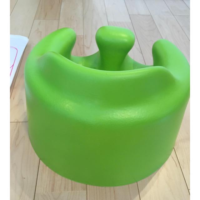 Bumbo(バンボ)のザップさん専用バンボ 美品 グリーン ハチリュック キッズ/ベビー/マタニティの寝具/家具(収納/チェスト)の商品写真