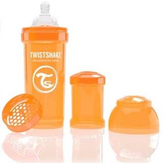 ティーレックス(T-REX)の【送料込】ツイストシェイク TWISTSHAKE ボトル 260ml オレンジ♡(哺乳ビン)
