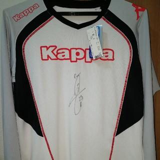 ドルトムント 香川真司選手 サイン入りプラシャツ Kappa