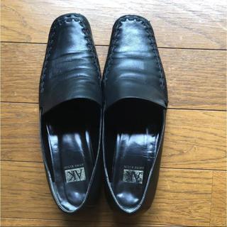 アンクライン(ANNE KLEIN)の ANNE KLEIN ローファー ブラック  (ローファー/革靴)