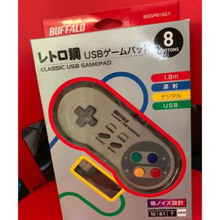 バッファロー(Buffalo)のレトロ調USBゲームパッド(その他)