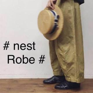 ネストローブ(nest Robe)のnestRobe コットンファティーグパンツ (ワークパンツ/カーゴパンツ)