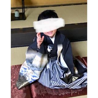 七五三 5歳用 送料込み 袴衣装セット(和服/着物)