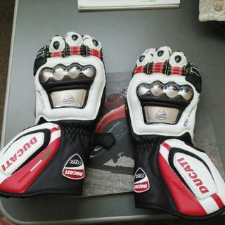 ドゥカティ(Ducati)のDUCATI+DAINESEレーシンググローブ(装備/装具)