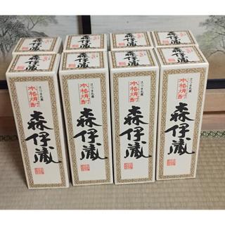 森伊蔵 720ml 8本セット 新品未開封 日本航空JAL機内購入品 ビジネス(焼酎)