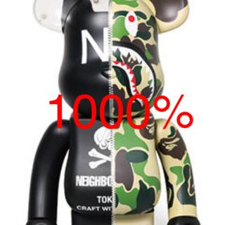 ベイプXネイバーフッド  ベアブリック 1000%(その他)