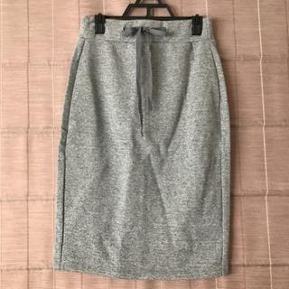 ジーユー(GU)のGU スウェットスカート(ひざ丈スカート)