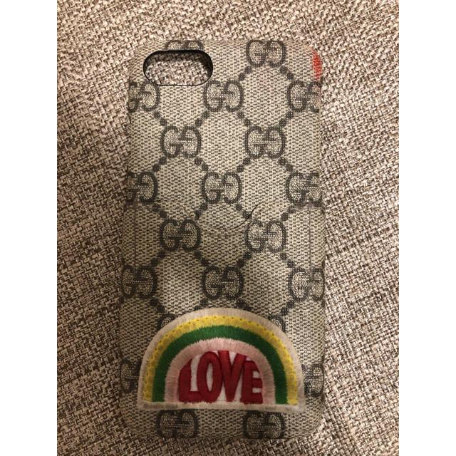 かわいい iphone8 カバー 人気 | Gucci - GUCCI グッチ iPhone 7/8 ケース  の通販 by kirin|グッチならラクマ