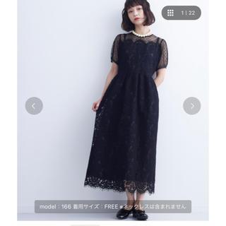 メルロー(merlot)のmerlot plus ドレス(ロングドレス)
