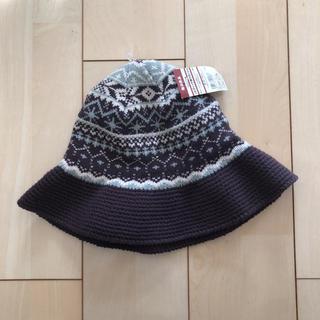 ムジルシリョウヒン(MUJI (無印良品))のノルディック柄 クロッシェ ニット帽(ニット帽/ビーニー)