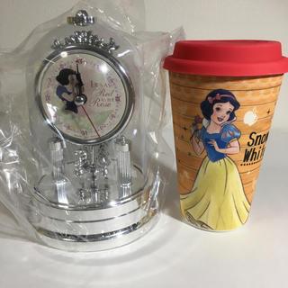 シラユキヒメ(白雪姫)の【新品】ディズニー 白雪姫 2点(キャラクターグッズ)