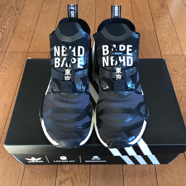 A BATHING APE(アベイシングエイプ)のNBHD BAPE NMD STEAL TH メンズの靴/シューズ(スニーカー)の商品写真