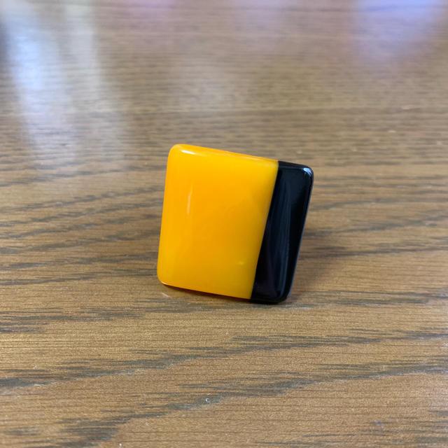 バッファロー 水牛角 指輪 レディースのアクセサリー(リング(指輪))の商品写真