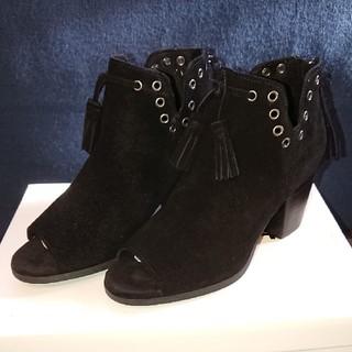 ミネトンカ(Minnetonka)のミネトンカ  ブーツ  ブラック(ブーツ)