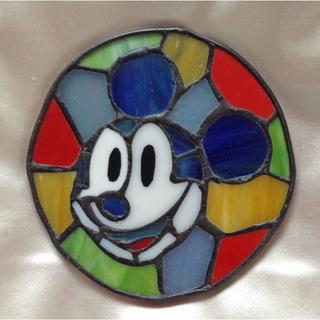 ディズニー(Disney)のミッキーのステンドグラス(その他)