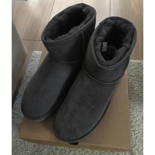 アグ(UGG)の新品 UGG ミニ グレー サイズ8(ブーツ)