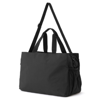 ムジルシリョウヒン(MUJI (無印良品))の無印良品 ポリエステルタフタサイドポケット付 キャリーオンボストンバッグ(ボストンバッグ)