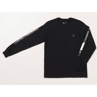 d3e45b90b62bd フラグメント(FRAGMENT)のTHUNDERBOLT PROJECT◼ ロンTee 黒 L(Tシャツ