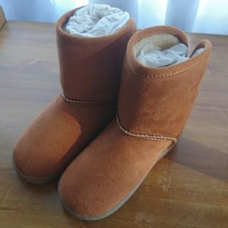 ムジルシリョウヒン(MUJI (無印良品))の【新品】無印良品 ボアブーツ(ブーツ)