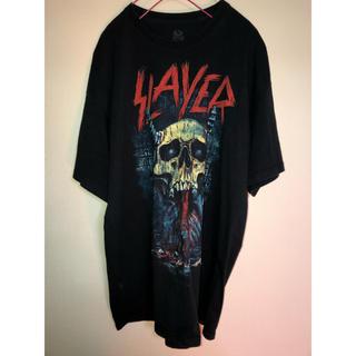 slayer バンドtシャツ(Tシャツ/カットソー(半袖/袖なし))