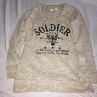 ガルラ(GARULA)のセーター M 茶 GARULA(ニット/セーター)