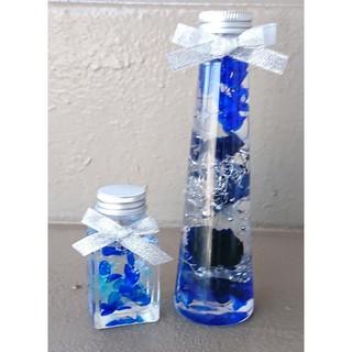 ハーバリウム ブルーな2本セット(その他)