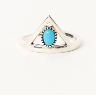 バーナー(Burner)の新品 シルバー925 リング 指輪 ターコイズ シルバーアクセサリー(リング(指輪))