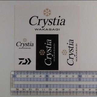 ダイワ(DAIWA)のDaiwa Crystia ステッカー1枚(その他)