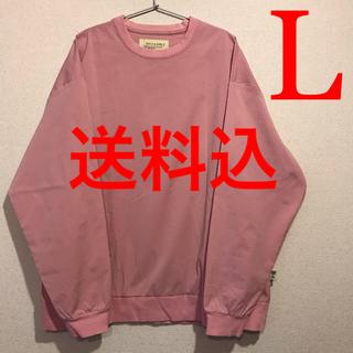 ビームス(BEAMS)の送料込み【L】SSZ SHAKA CREW PINK ロングスリーブTシャツ(Tシャツ/カットソー(七分/長袖))