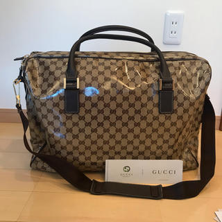 グッチ(Gucci)の♡未使用♡GUCCIクリスタル♡ビッグボストンバッグ N070(トラベルバッグ/スーツケース)