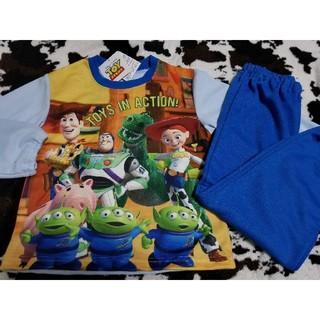 ディズニー(Disney)のディズニー トイストーリー 120cm 長袖パジャマ上下セット 新品未使用品(パジャマ)