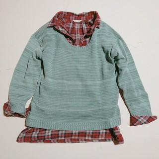 サブロク(SABUROKU)のサブロク ニットとシャツ アンサンブル(ニット/セーター)