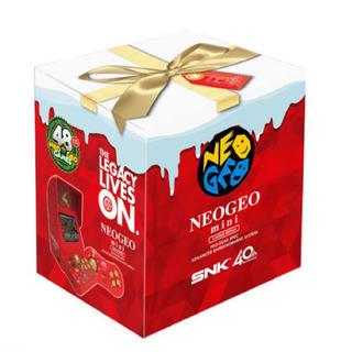 ネオジオ(NEOGEO)の新品 NEOGEO mini Christmas Limited Edition(家庭用ゲーム本体)