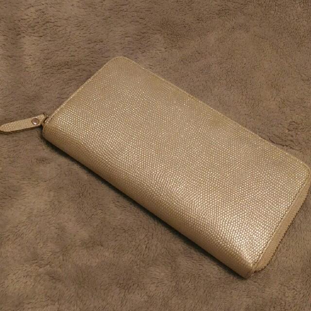 d1501feb5f9f GANZO(ガンゾ)のepoi 長財布 ルチェンテ シャンパンゴールド レディースのファッション小物(