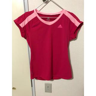 アディダス(adidas)のadidas アディダス Tシャツ M レディース(トレーニング用品)