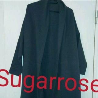 シュガーローズ(Sugar Rose)のSugarrose厚手ロングカーディガン(カーディガン)