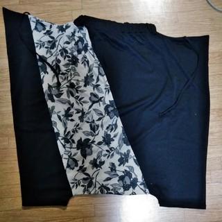 アンティカ(antiqua)の専用〜花柄×無地サルエルパンツB(サルエルパンツ)